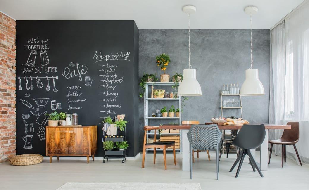 Super DIY: Een krijtbord maken Zo doe je het! | Blooming Home QT-78